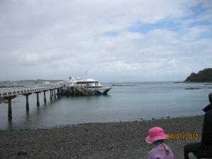 Ferry to Tiritiri Matangi Island