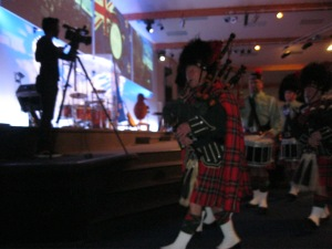 These feet were made for marching! My brother Bill in the Pt Chevalier, Auckland, NZ Pipe Band