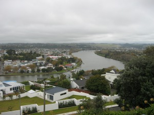 Wanganui on the banks of the mighty Wanganui River