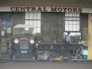 Early garage in Katikati